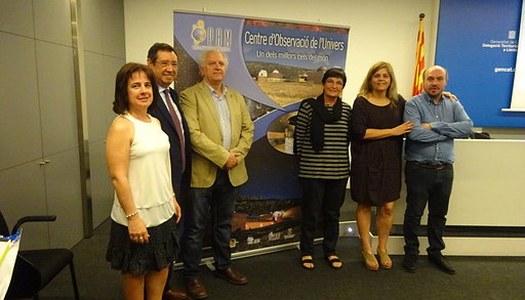 El Parc Astronòmic Montsec (PAM) anomenat ambaixador platí de cels foscos, l'únic a España, de l'International Astronomical Union (IAU) dintre dels actes del seu centenari