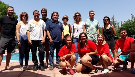 El director de l'Agència Catalana de la Joventut visita els camps de treball de la Noguera