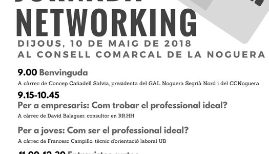 II Jornada de Netwkorking per a joves professionals de la Noguera