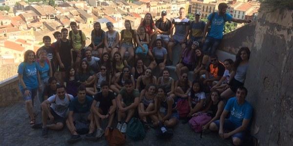 L'Encomarca't arrenca a Balaguer amb una quarantena de joves de la Noguera i l'Alt Empordà