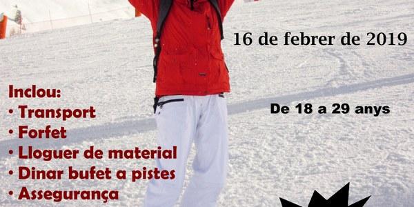 L'Oficina Jove de la Noguera posa en marxa l'Esquiada Jove a Port Ainé
