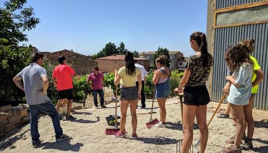 La Noguera acollirà aquest estiu quatre camps de treball a Balaguer, Castelló de Farfanya, Montgai i Penelles