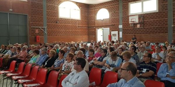 300 persones a la 13a Trobada de Gent Gran de la Noguera