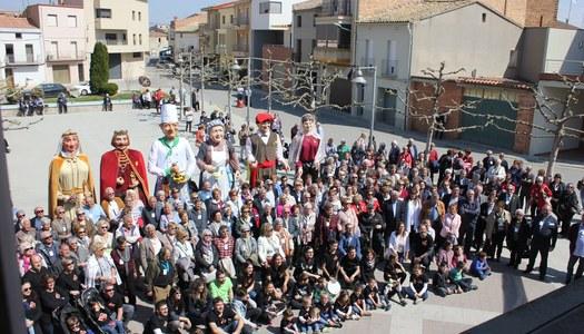 La Trobada de Gent Gran de la Noguera a Térmens, un èxit de participació
