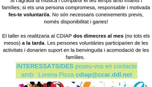 Crida de voluntariat