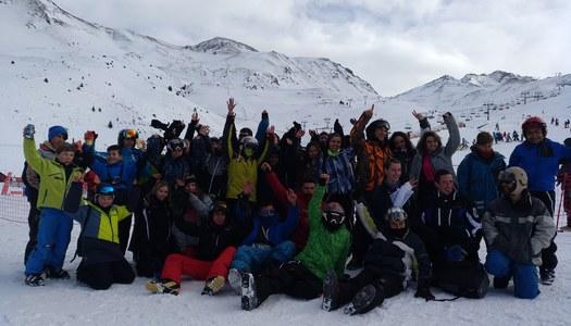 En marxa la tercera Esquiada Jove Comarcal
