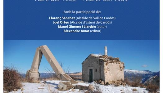 """Presentació del llibre """"Indrets d'una guerra"""""""