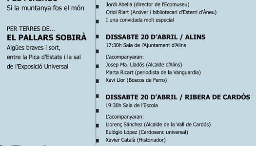 """Presentació del Llibre """"Viatge Universal pel Pirineu"""""""
