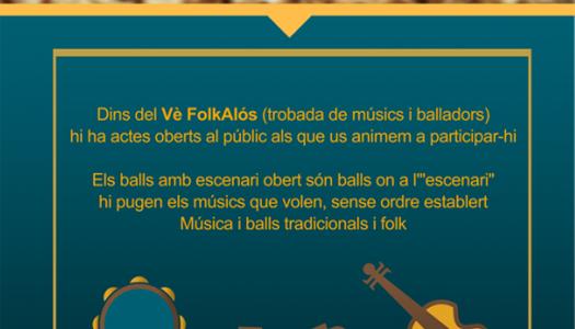 Vè FolkAlòs - Trobada de músics i balladors